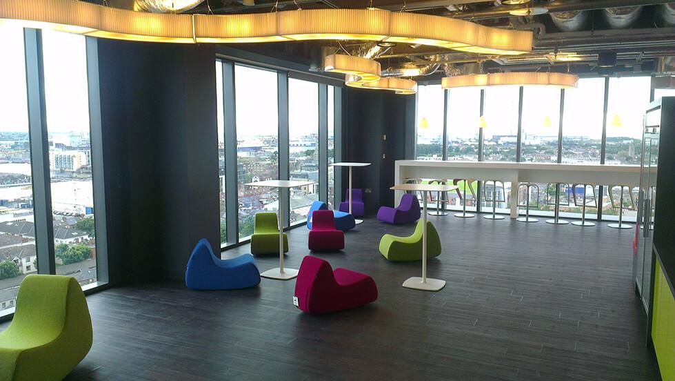 Google Office Fitout, Dublin 2